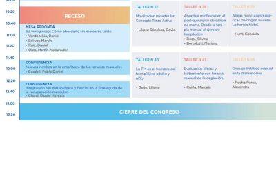 Estaremos participando del Congreso de Terapia Manual en  Kinesiologia
