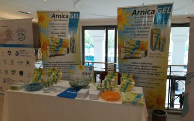 Participamos con ARNICAGEL  y OIL del Primer  Congreso  Internacional  de Terapia Manual en Kinesiologia